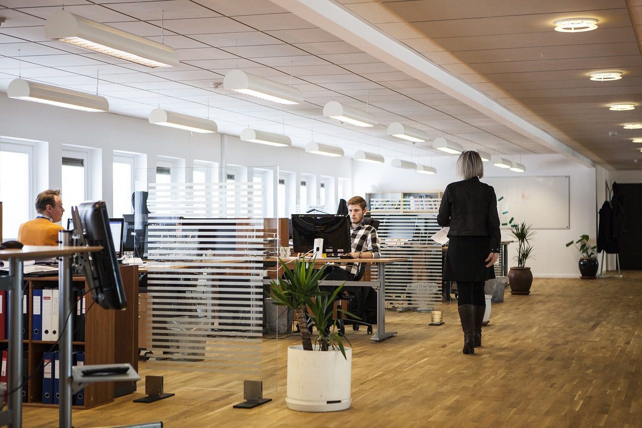 UK office space is modernising with rise in flexible office take-up