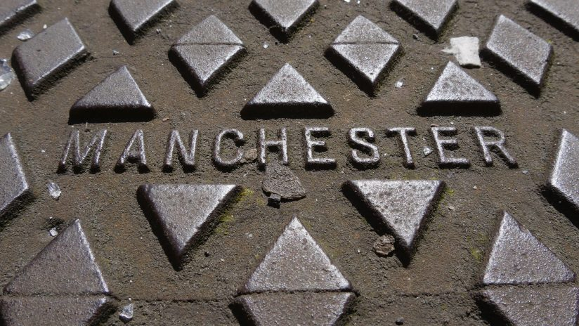 Manchester metal man hole cover